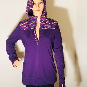 Rare and Retro Adidas Hoodie purple sweatshirt
